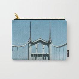 St. Johns Bridge Portland, Oregon Carry-All Pouch