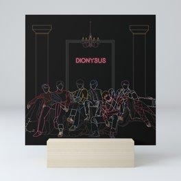 BTS DIONYSUS Mini Art Print