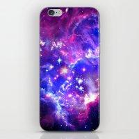galaxy iPhone & iPod Skins featuring Galaxy. by Matt Borchert