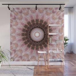 Mandala gentle blush Wall Mural