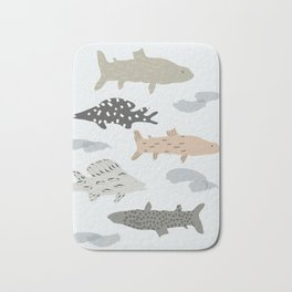 Fish in the Baltic sea Bath Mat