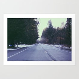 Mountain Rainier  Art Print