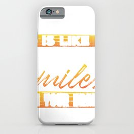 Water Like Pouring Smiles in Your Brain Water Lover iPhone Case