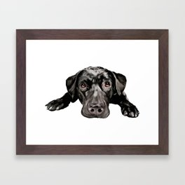 Waiting to Love Framed Art Print