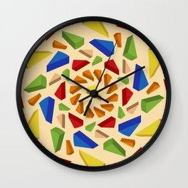 Pi Day Mandala Wall Clock