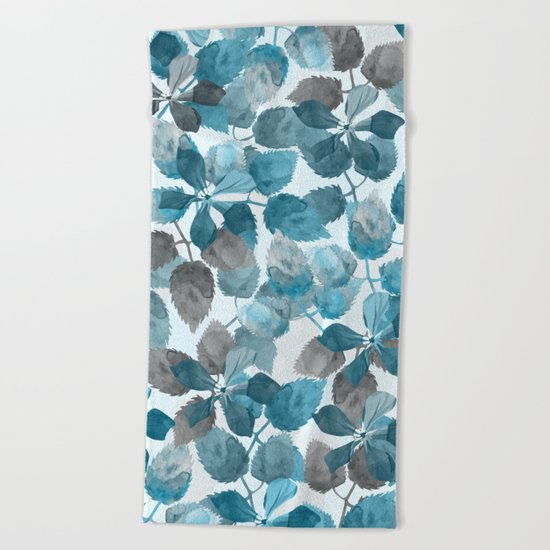 Botanical garden III Beach Towel