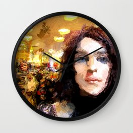 In the Department Store Wall Clock