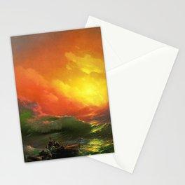 Iván Aivazovsky The Ninth Wave Stationery Cards