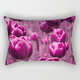 Tulips 035 Rectangular Pillow