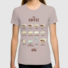 Italians Do It Different - The Coffee T-shirt
