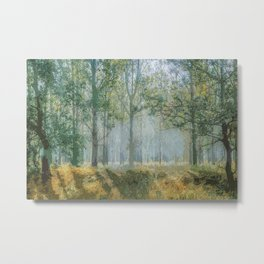 Deep Within the Forest Trees Metal Print