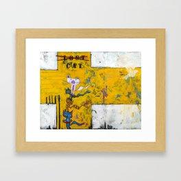 Lost Cat Framed Art Print