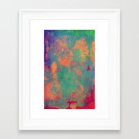 batik Framed Art Prints featuring batik by Camila Rodrigué