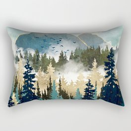 Misty Pines Rectangular Pillow