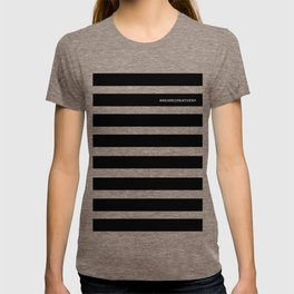 Striped All Over Tee T-shirt