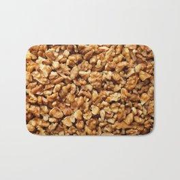 Chopped walnuts Bath Mat