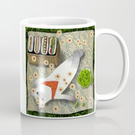 Cat Going for a Picnic series 3 Coffee Mug