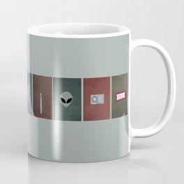 X-Files colors Coffee Mug