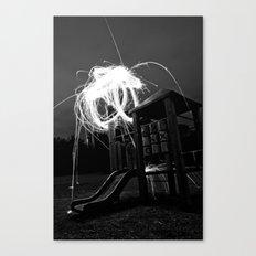 Esplode Canvas Print