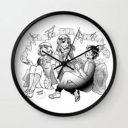 Music - crossover Wall Clock
