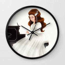 Liesl in Labyrinth Wall Clock