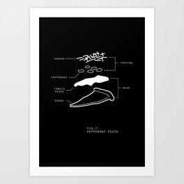 Fig 1 BLK Art Print