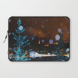 Leave a Light On II Laptop Sleeve
