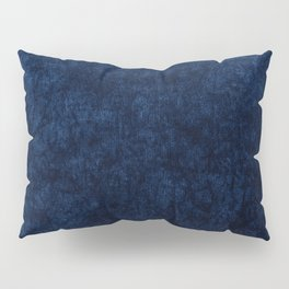 Royal Blue Velvet Texture Pillow Sham