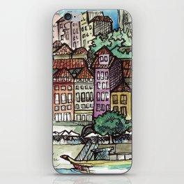 Camino Portugués - Porto iPhone Skin