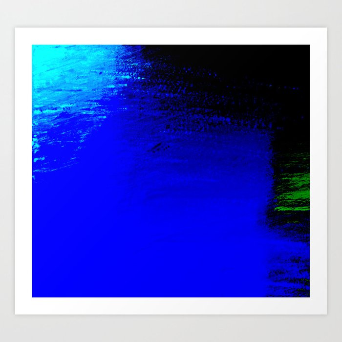 Moon Casting in to the Sea Art Print