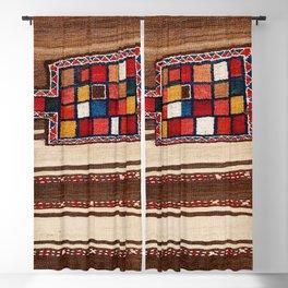 Bakhtiari Chahar Mahal  Northeast Persian Tasheh Print Blackout Curtain