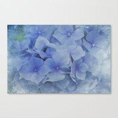 Blue Moments  Canvas Print
