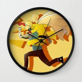 Piggyback Wall Clock