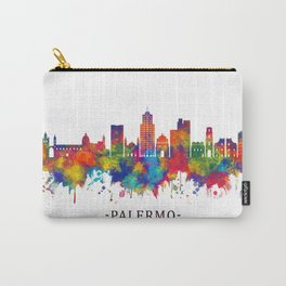Palermo Italy Skyline Carry-All Pouch