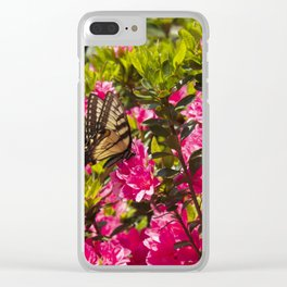 Swallowtail Butterfly Clear iPhone Case