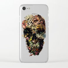 Smyrna Skull Clear iPhone Case