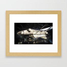 Space Shuttle Atlantis Framed Art Print