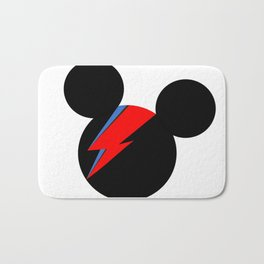 David Bowie Mouse Bath Mat