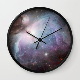 Orion Nebula Space Photo Wall Clock