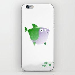 Plumply Shark  iPhone Skin
