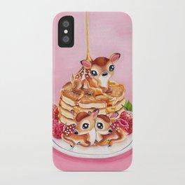 Three Pancake Deer iPhone Case