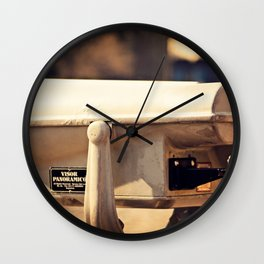 Lakeside Panoramic Visor Wall Clock