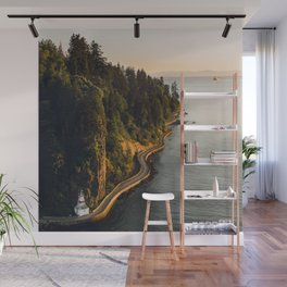 A Curvy Park - Vancouver, British Columbia, Canada Wall Mural
