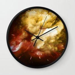 Universal Skies Wall Clock