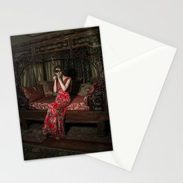 Portrait Of Artist Stationery Cards