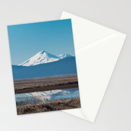 Mt Shasta Reflection Stationery Cards