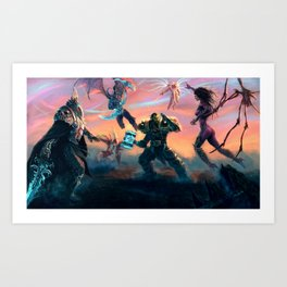 Heroes of the Storm Art Print