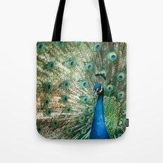 Peacocking Tote Bag