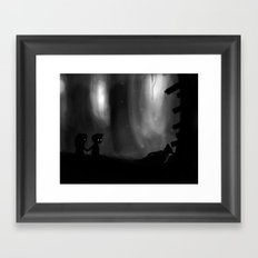 Overlooking Chaos Framed Art Print
