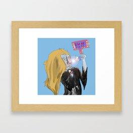 like me Framed Art Print